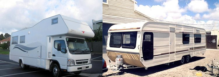 Motorhome vs caravan - how to choose?