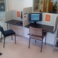 Theory test work station