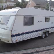 Our beloved caravan