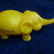 Children's elephant money box